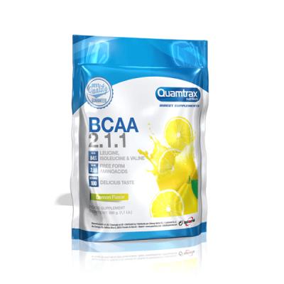 Comprar BCAA´S QUAMTRAX - BCAA 2.1.1 500G marca Quamtrax. Precio 23,90€
