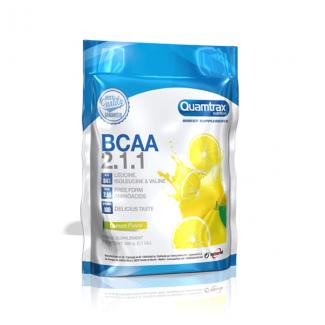Comprar BCAA´S QUAMTRAX - BCAA 2.1.1 500G marca Quamtrax. Precio 20,31€