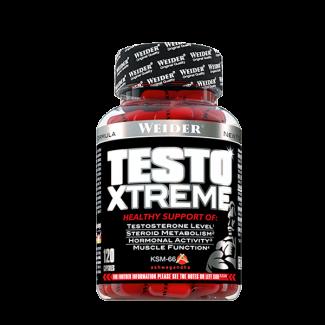 Comprar Testosterona WEIDER - TESTO XTREME 120 CAPS - REGULADOR DE TESTOSTERONA marca Weider. Precio 29,69€