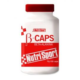 Comprar Aminoácidos Esenciales NUTRISPORT - B-CAPS BETA-ALANINA marca NutriSport. Precio 16,15€