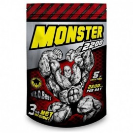 Comprar Hidratos de Carbono VITOBEST - MONSTER GAINER 2200 3 KG marca VitOBest. Precio 27,90€