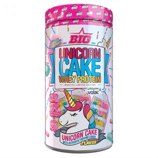 Comprar Whey Protein (Proteína de suero) BIG - UNICORN CAKE WHEY PROTEIN - 900G marca Big. Precio 34,90€