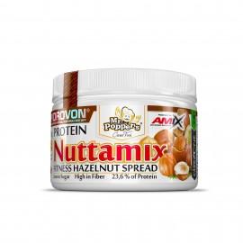 Comprar Cremas y Mantequillas AMIX - NUTTAMIX CREMA DE AVELLANAS 250GR marca Amix ® Nutrition. Precio 9,20€