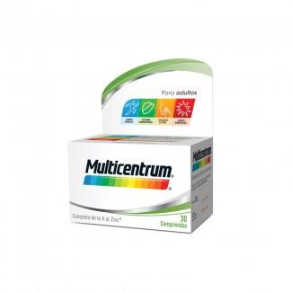 Comprar Multivitamínicos MULTICENTRUM 30 COMP marca MULTICENTRUM. Precio 8,07€