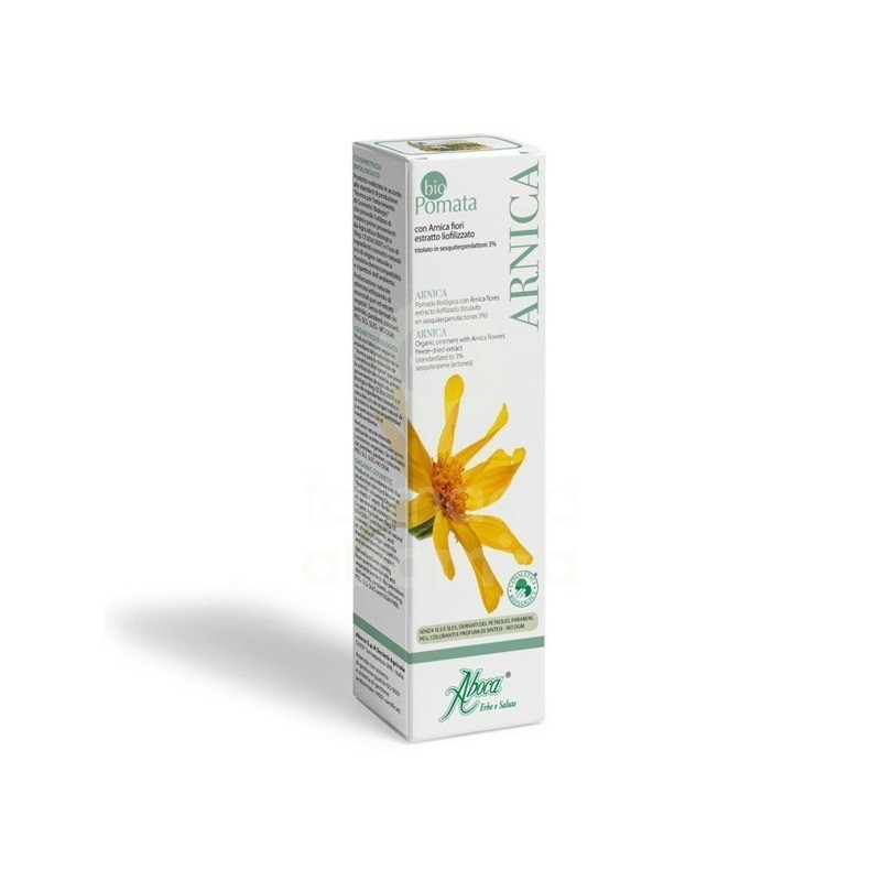 Comprar Irritación BIOPOMADA ARNICA 50ML marca ABOCA. Precio 7,06€