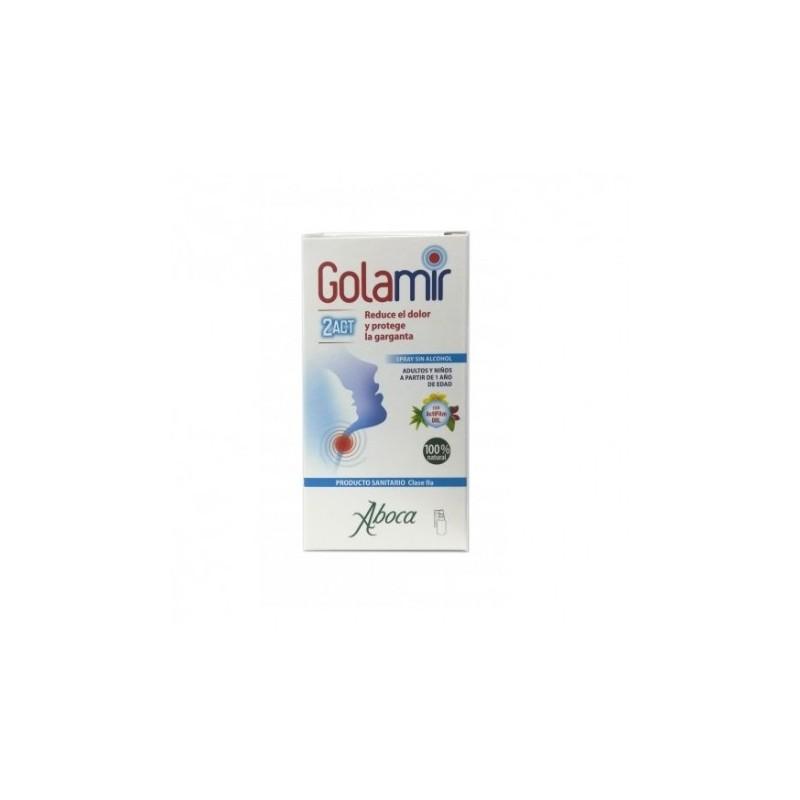 Comprar Garganta GOLAMIR 2 ACT SPRAY 30ML EXP:4/22 marca . Precio 8,90€