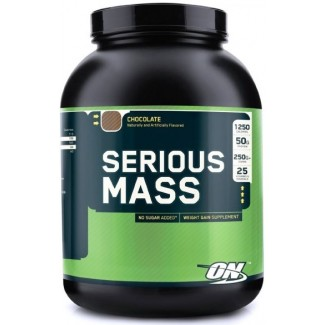 Comprar Hidratos de Carbono OPTIMUM NUTRITION - SERIOUS MASS 2,72 Kg marca . Precio 28,25€