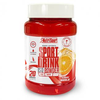 Comprar Isotónicos y Sales NUTRISPORT - SPORT DRINK ISO POWDER 1120 GR marca NutriSport. Precio 19,35€