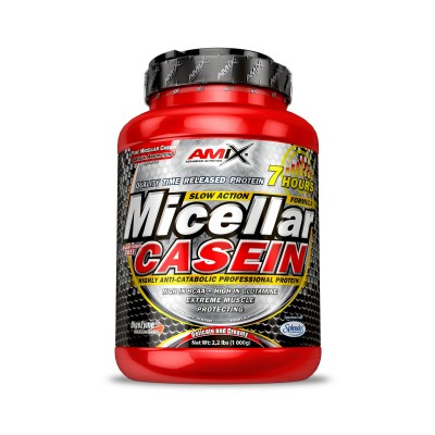 Comprar Caseína AMIX - MICELLAR CASEIN 1 KG marca Amix ® Nutrition. Precio 46,50€