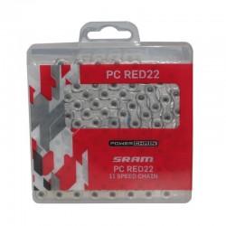 Comprar Cadena SRAM- CADENA RED22 HOLLOWPIN 114 ESLABONES POWERLOCK 11V marca SRAM. Precio 47,00€