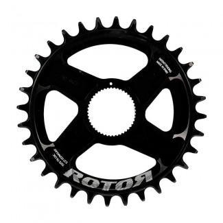 Comprar Bielas y Platos ROTOR - ROUND DIRECT MOUNT RING R34T BLACK marca ROTOЯ. Precio 59,99€