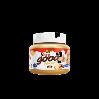 Comprar Cremas MAX PROTEIN WTF VERY GOOD PROTEIN CREAM - CREMA BLANCA DE AVELLANAS 250 gr marca Max Protein. Precio 7,49€