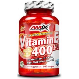 Comprar Vitaminas AMIX - VITAMINA E 400 IU 100 CAPS marca Amix ® Nutrition. Precio 23,90€