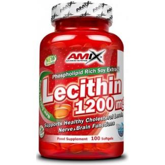 Comprar Vitaminas AMIX - LECITHIN 1200 MG 100 CAPS marca Amix ® Nutrition. Precio 16,70€