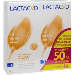 Comprar Higiene Diaria Lactacyd Íntimo, Gel de Higiene Íntima Diario 2uds marca . Precio 3,89€