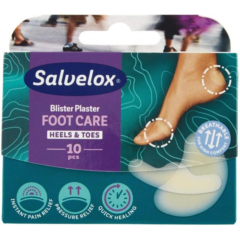 Comprar Protectores SALVELOX Foot Care Ampollas Dedos y Talón 10 unidades… marca . Precio 4,75€