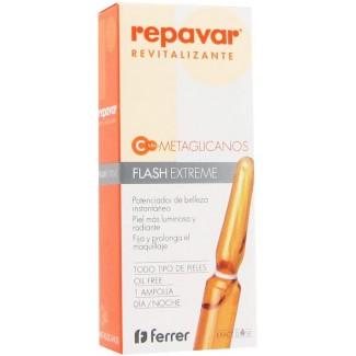 Comprar Antimanchas Repavar Revitalizante Metaglicanos Flash Extreme 1mlx1 marca . Precio 5,50€