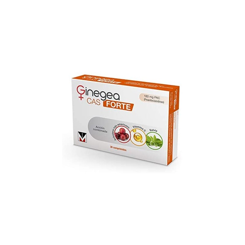 Comprar Complemento Nutricional GINEGEA CAS FORTE 30 Comprimidos marca . Precio 10,20€