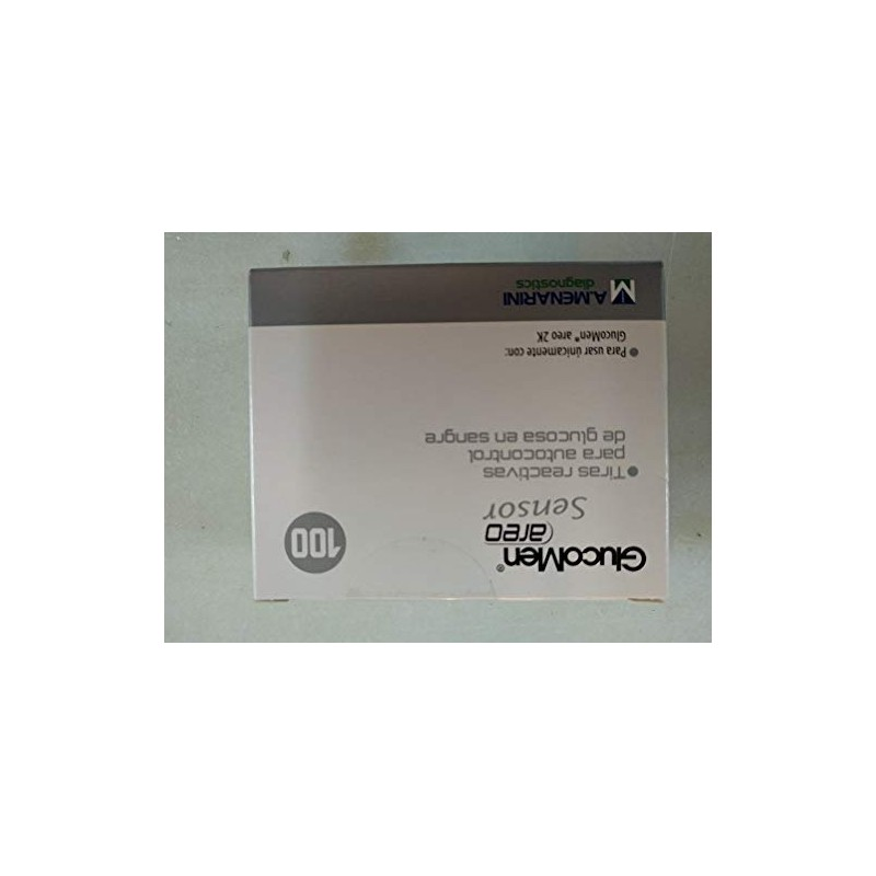 Comprar Salud GLUCOMEN AREO SENSOR GLUCOSA 100 TIRAS marca . Precio 43,28€