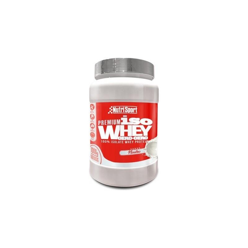 Comprar Aislado de Proteína NUTRISPORT ISO WHEY CERO CERO 1 kg marca NutriSport. Precio 54,70€