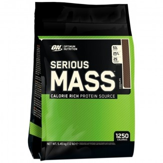 Comprar Hidratos de Carbono OPTIMUM NUTRITION - SERIOUS MASS 5 kG marca Optimum Nutrition. Precio 53,80 €