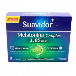 Comprar Insomnio SUAVIDOR MELATONINA COMPLEX 1.85MG 30 COMPRIMIDOS EXP:4/22 marca . Precio 7,50€