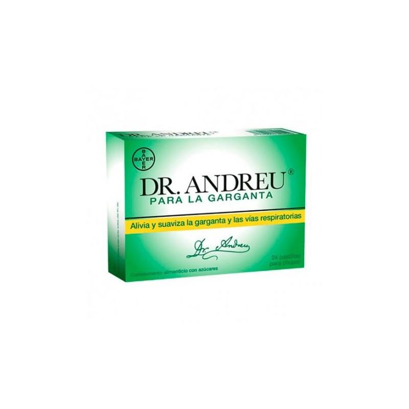 Comprar Garganta Dr. Andreu Pastillas para la Garganta 24 Unidades marca . Precio 3,50€