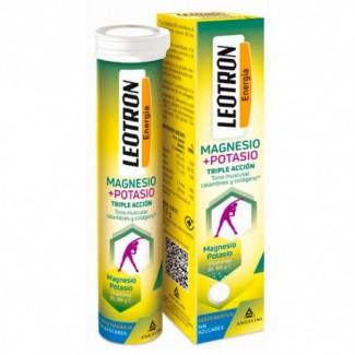 Comprar Vitaminas LEOTRON MAGNESIO + POTASIO 15 COMP EXP:2/22 marca . Precio 4,00€