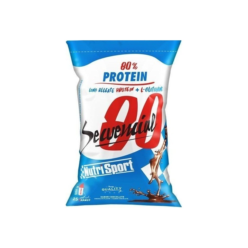 Comprar Proteínas Secuenciales NUTRISPORT - SECUENCIAL 80 2KG marca NutriSport. Precio 55,58€