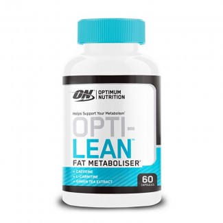 Comprar Reductores Con Estimulantes OPTIMUM NUTRITION - OPTI-LEAN FAT METABOLISER 60 CAPS marca Optimum Nutrition. Precio 25,...