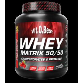 Comprar Proteínas Secuenciales VITOBEST - WHEY MATRIX 50/50 marca VitOBest. Precio 19,99€
