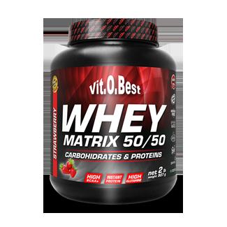 Comprar Proteínas Secuenciales VITOBEST - WHEY MATRIX 50/50 907 GR marca VitOBest. Precio 21,90€