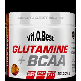Comprar Glutamina + BCAA´S VITOBEST - GLUTAMINA + BCAA COMPLEX marca VitOBest. Precio 54,99€