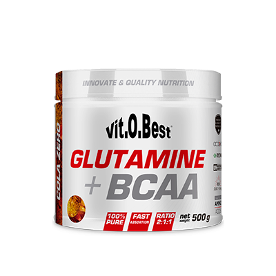 Comprar Glutamina + BCAA´S VITOBEST - GLUTAMINA + BCAA COMPLEX 500 GR marca VitOBest. Precio 31,90€