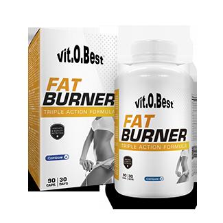 Comprar Quemadores Termogénicos VITOBEST - FAT BURNER TRIPLE ACCIÓN 90 CAPS marca VitOBest. Precio 14,90€