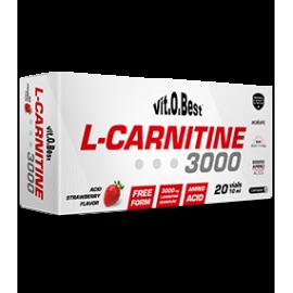 Comprar Reductores Sin Estimulantes VITOBEST - L-CARNITINE 3000 mg 20 viales * 10 ml marca VitOBest. Precio 18,90€