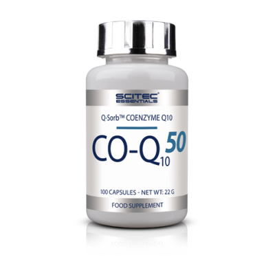 Comprar Vitaminas SCITEC ESSENTIALS - CO-Q10/50MG - COENZIMA Q 10 100 CAPS marca Scitec Nutrition. Precio 16,30 €