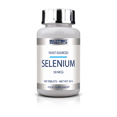Comprar Vitaminas SCITEC ESSENTIALS - SELENIUM 100 TABS marca Scitec Nutrition. Precio 6,50€