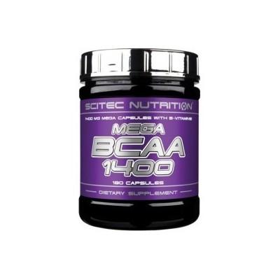 Comprar BCAA´S SCITEC - MEGA BCAA 1400 180 CAPS marca Scitec Nutrition. Precio 19,69€