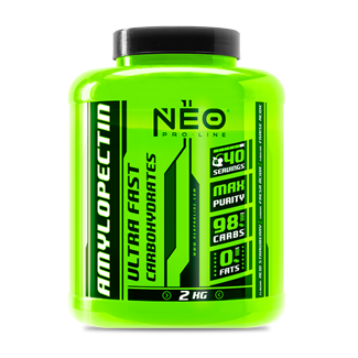 Comprar Hidratos de Carbono VITOBEST NEO - AMYLOPECTIN 2 KG marca Vit.O.Best - NEO Pro Line. Precio 17,90€