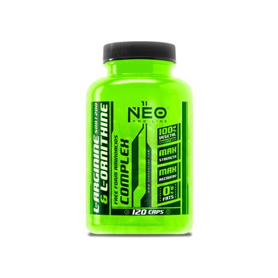 Comprar Aminoácidos Esenciales VITOBEST NEO - L-ARGININE & L-ORNITHINE 120CAPS marca Vit.O.Best - NEO Pro Line. Precio 14,90€