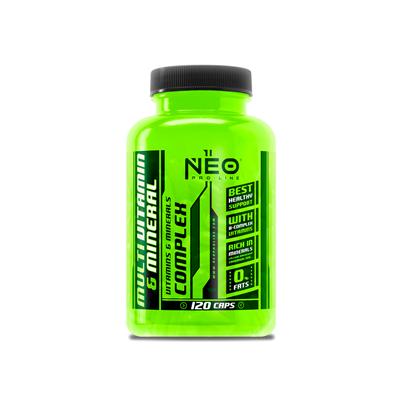 Comprar Vitaminas VITOBEST - NEO - MULTI VITAMIN & MINERAL - MULTIVITAMINICO 120 CAPS marca Vit.O.Best - NEO Pro Line. Precio...