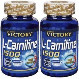 Comprar Reductores Sin Estimulantes VICTORY - PACK DUO L-CARNITINE 1500 marca Victory. Precio 31,49€