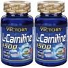 Comprar Reductores Sin Estimulantes VICTORY - PACK DUO L-CARNITINE 1500 100 CAPS marca Victory. Precio 31,69€