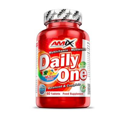 Comprar Vitaminas AMIX - DAILY ONE - MULTIVITAMINICO 60 TABS marca Amix ® Nutrition. Precio 17,20€