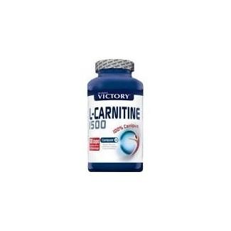 Comprar Reductores Sin Estimulantes VICTORY - L-CARNITINE 1500 100 CAPS marca Victory. Precio 16,79€