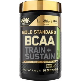 Comprar BCAA´S OPTIMUM NUTRITION - BCAA TRAIN + SUSTAIN marca Optimum Nutrition. Precio 23,79 €