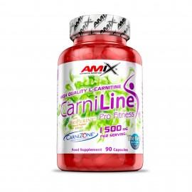 Comprar Reductores Sin Estimulantes AMIX - CARNILINE - L-CARNITINA 90 CAPS marca Amix ® Nutrition. Precio 31,90€