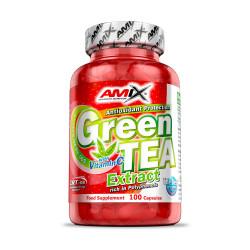 Comprar Quemadores Termogénicos AMIX - GREEN TEA EXTRACT & VITAMIN C - EXTRACTO TÉ VERDE marca Amix™ Nutrition. Precio 20,90€